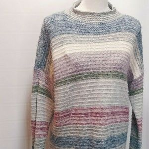 American Eagle Outfitter L Sweater Knit Striped